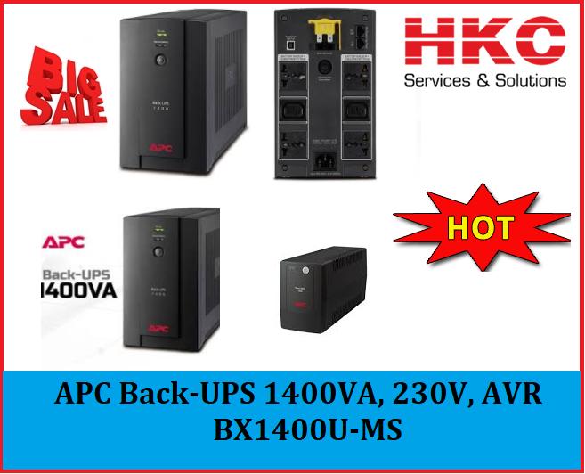 APC UPS 1400VA 230V - BX1400U