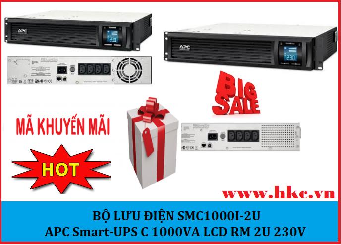 APC UPS SMC1000I-2U