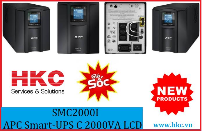 APC smart-UPS C 2000valcd - SMC2000I
