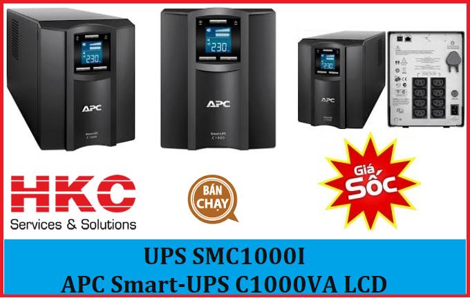 UPS SMC1000I - APC Smart-UPS C1000VA LCD 230V