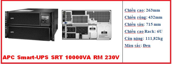 UPS SRT 10000VA RM 230V