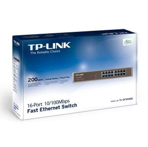 Switch TP-LINK TL-SF1024 24-Port 10/100Mbps