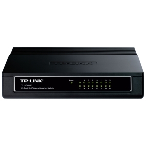 Switch TP Link 16P TL SF1016D