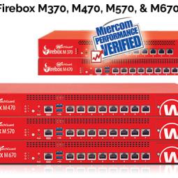 WatchGuard Firebox M470, M570 & M670 Chính hãng