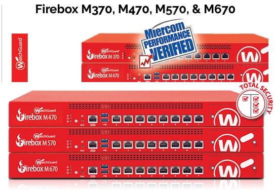 WatchGuard Firebox M470, M570 & M670 đảm bảo an toàn mạng cho Doanh nghiệp