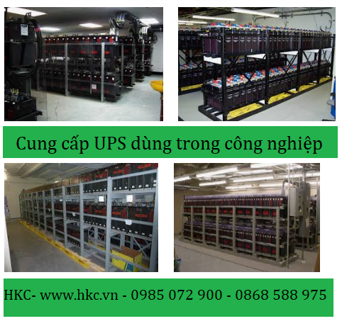 Giải pháp UPS dùng trong công nghiệp công suất lớn