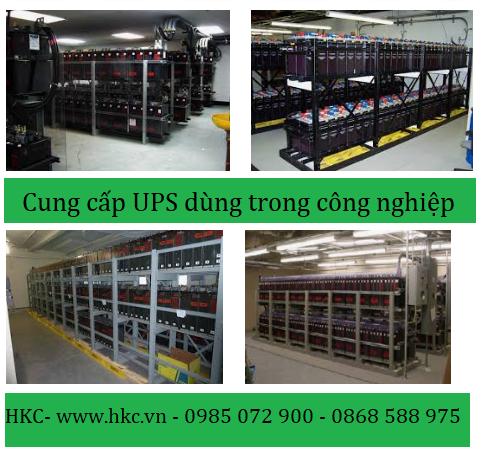 Cung cấp UPS dùng trong công nghiệp công suất lớn