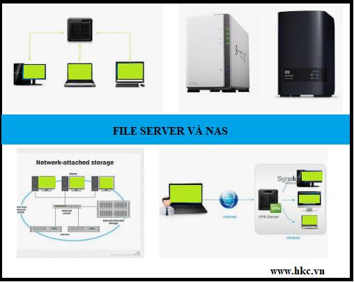 Five Server va NAS