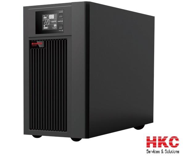 Nguồn lưu điện 1KVA UPS SANTAK ONLINE C1K LCD