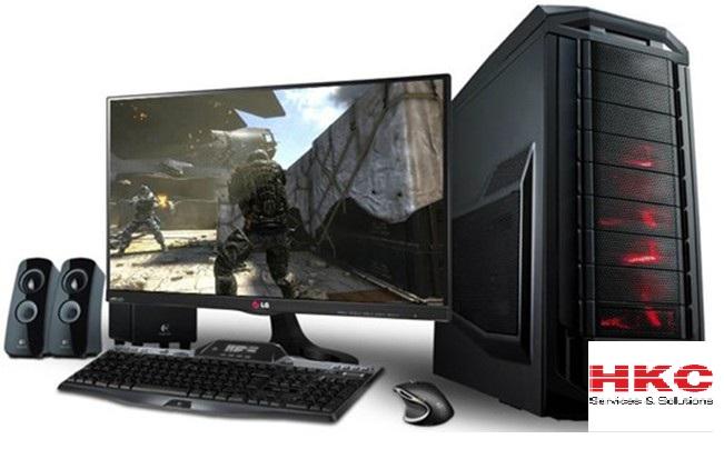 Trọn bộ máy tính để bàn giá rẻ.