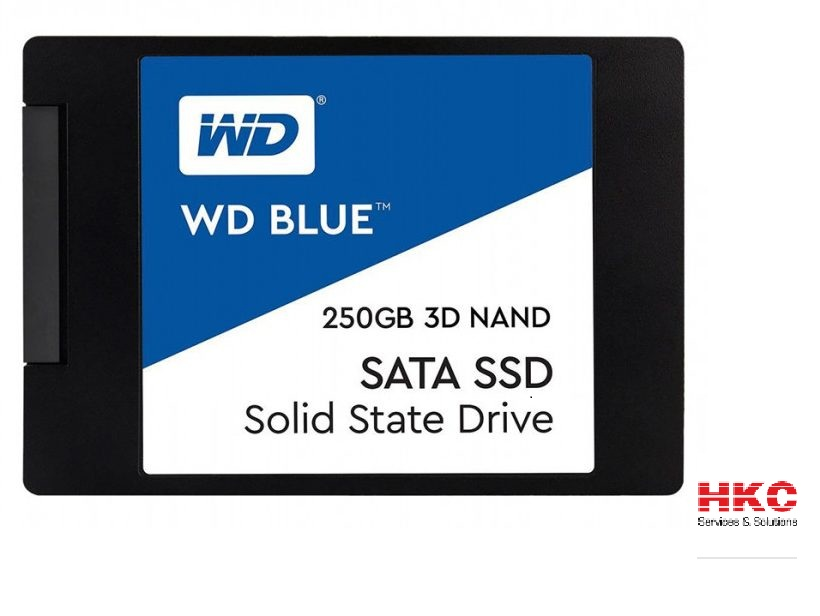Ổ cứng SSD Western Digital Blue 250GB 2.5″ SATA 3