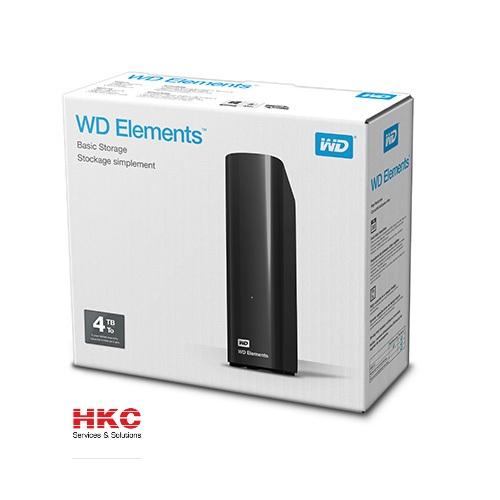 Ổ cứng ngoài WD Elements 3.5″ 4TB chính hãng