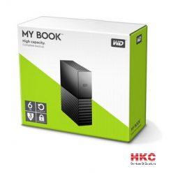 Ổ cứng di động gắn ngoài WD My book 6TB 3,5 USB 3.0