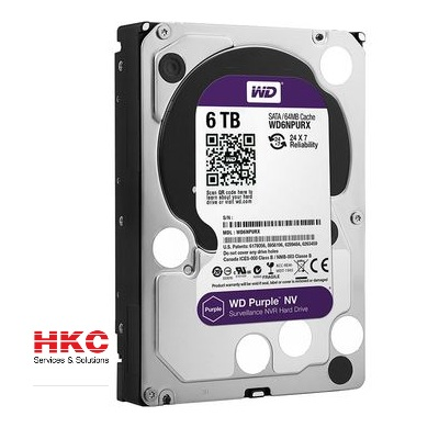 Ổ Cứng HDD Western Digital 6TB 3.5″ Sata 3