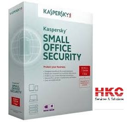 Phần mềm diệt virus Kaspersky Small Office Security 1 Server + 5PC