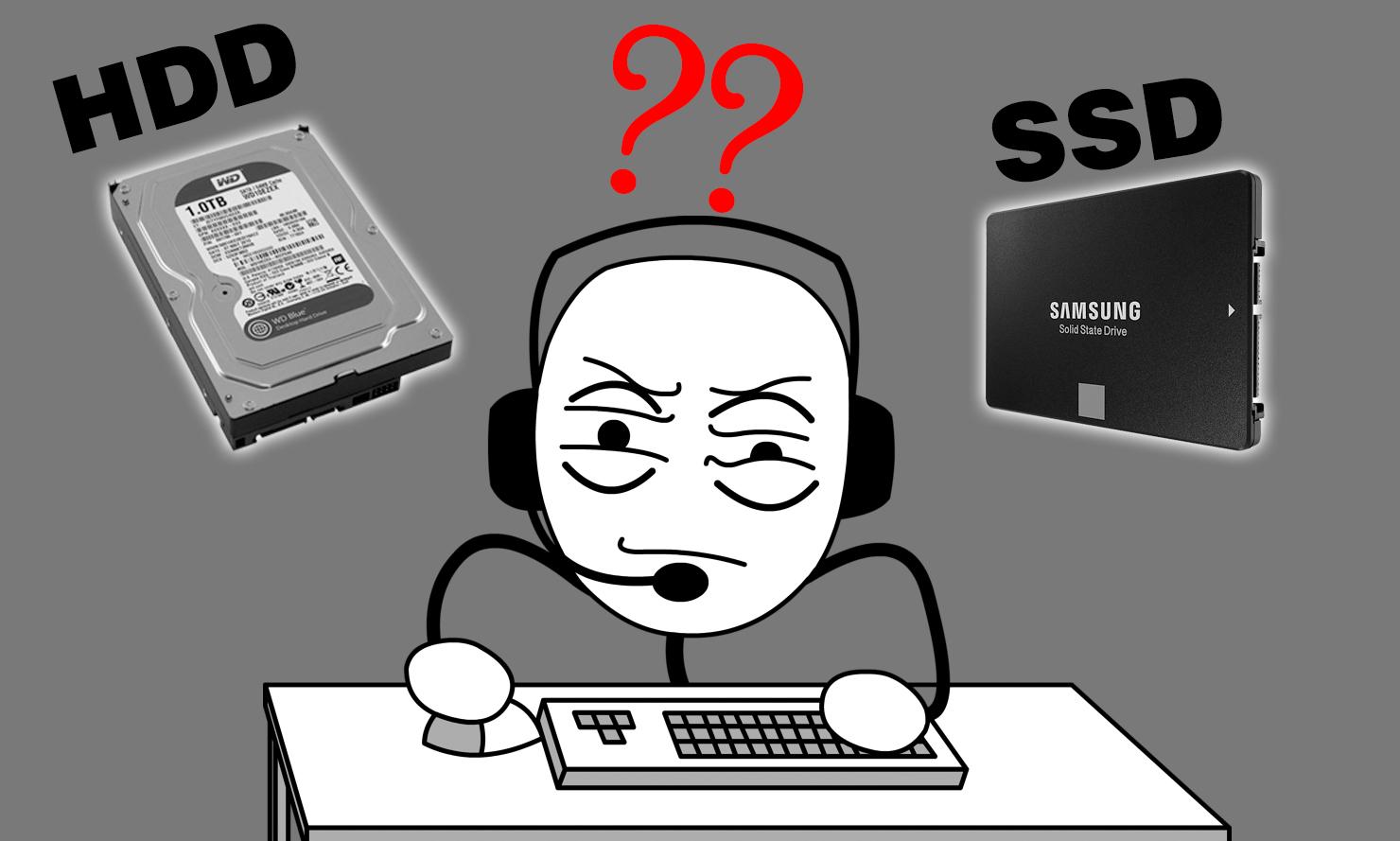NHỮNG ĐẶC ĐIỂM KHÁC NHAU GIỮA HDD VỚI SSD MÀ BẠN CẦN LƯU Ý KHI CHỌN MUA ?