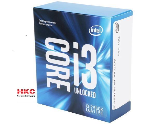 Bộ vi xử lý CPU Intel Core i3-7350K Processor (4M Cache, 4.2GHz)