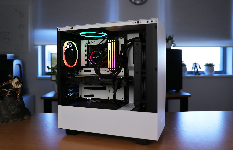 Case NZXT H510 hoàn hảo 2 màu trắng đen giá đẹp