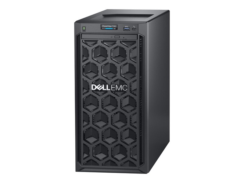 "Máy Chủ Dell PowerEdge T340 8×3.5"" E-2124/8GB/1TB/DVDRW"