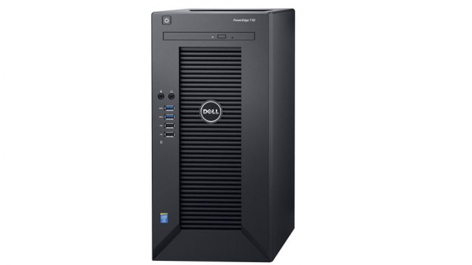 DELL PE T130 (MINI TOWER)/E3-1230 V6/16GB/1TB/DVDRW/290W