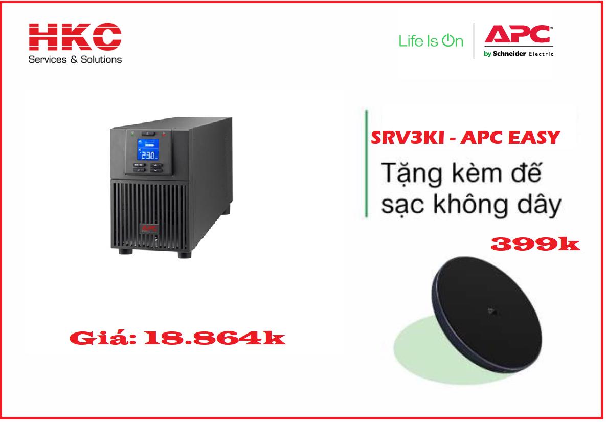 Bộ lưu điện APC EASY UPS SRV3KI