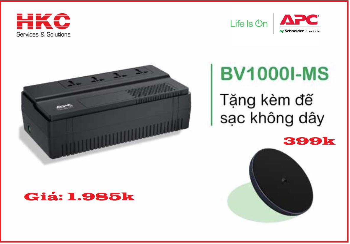 Phân phối Bộ lưu điện APC EASY UPS BV1000i-ms