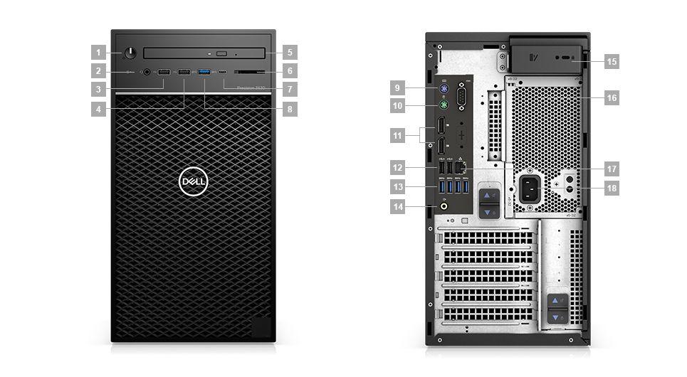 Dell Precision 3630 Tower 70172472