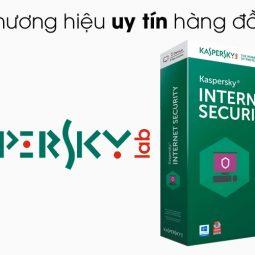 Kaspersky Internet Security cho 1 máy tính