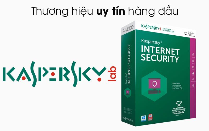 Kaspersky Internet Security cho 3 máy tính