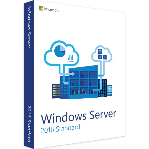 Bản quyền Windows Server 2016 64bit English