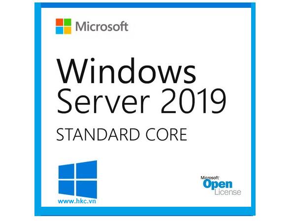 Phần mềm WinSvrSTDCore 2019 SNGL OLP 16Lic NL CoreLic