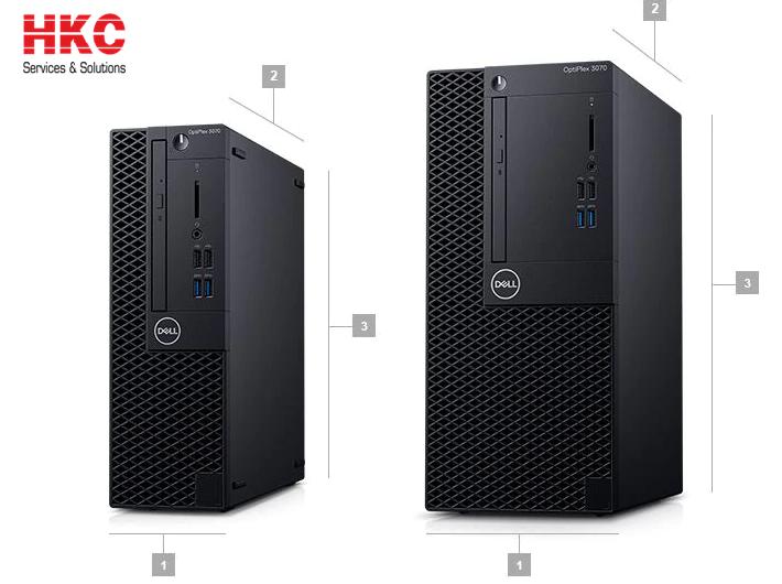 Máy tính để bàn Dell OptiPlex 3070 SFF, Core i5-9500