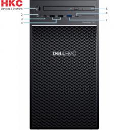 Server Dell PowerEdge T40 E-2224G/8GB/2x1TB