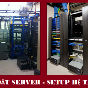 CAI DAT SERVER SETUP HE THONG