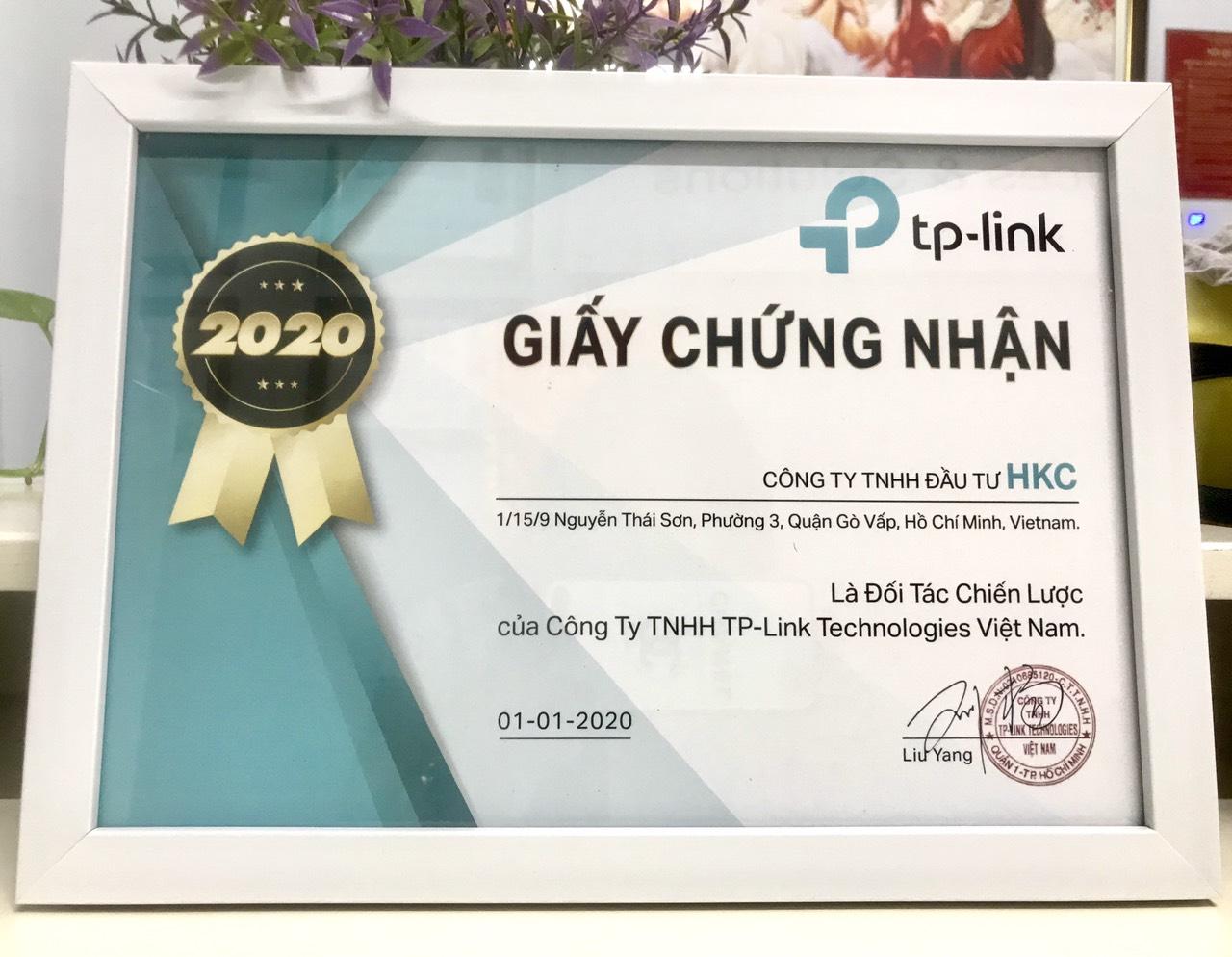 TPlink chọn HKC làm đối tác chiến lược của mình.