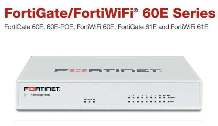 Tường lửa Firewall Fortigate 60E