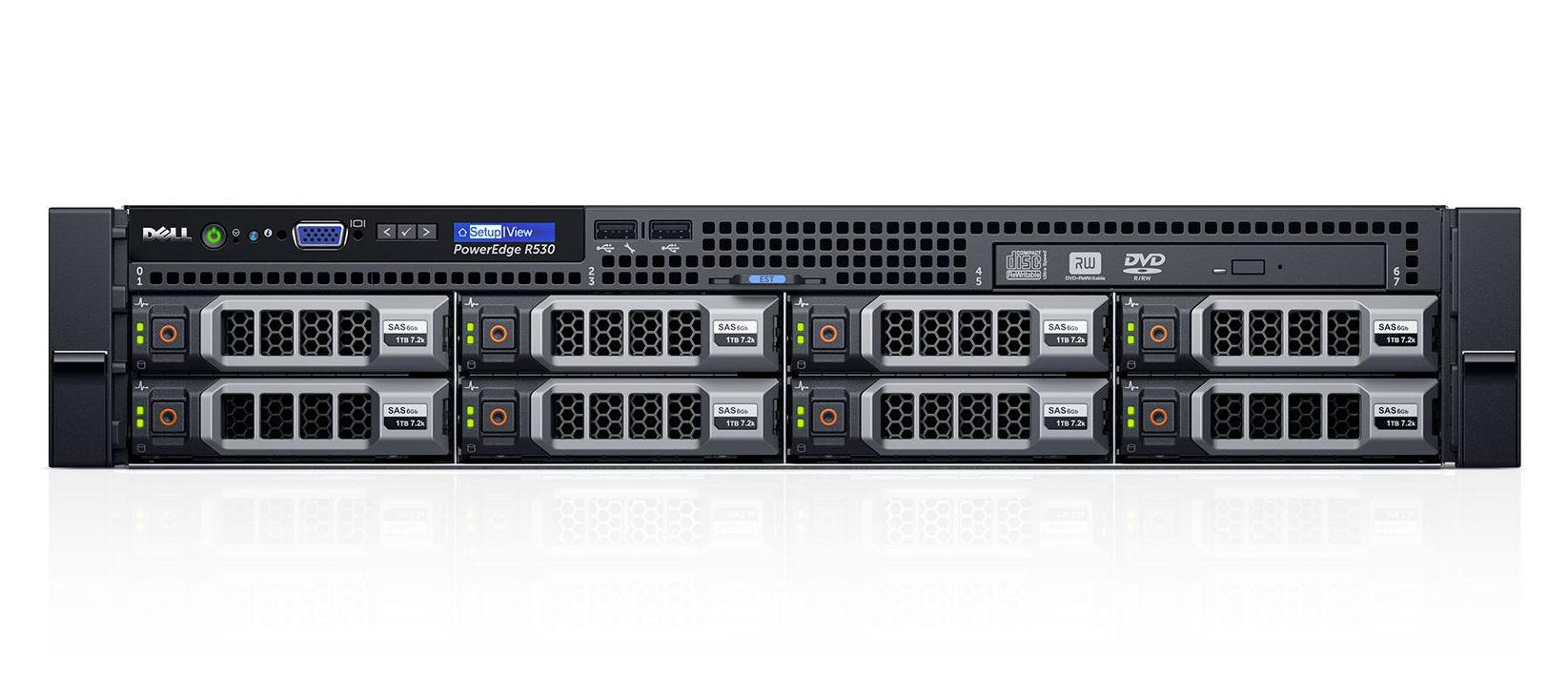 Máy chủ Server Dell R530 E5-2640 giá rẻ