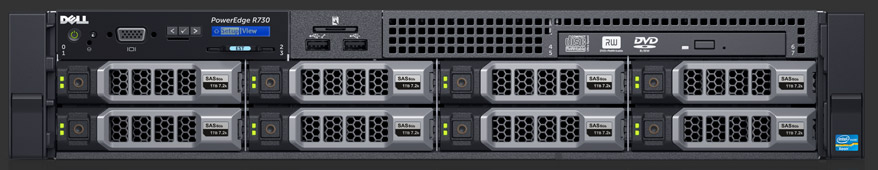DELL POWEREDGE R730XD 24 LFF E5-2680 v4