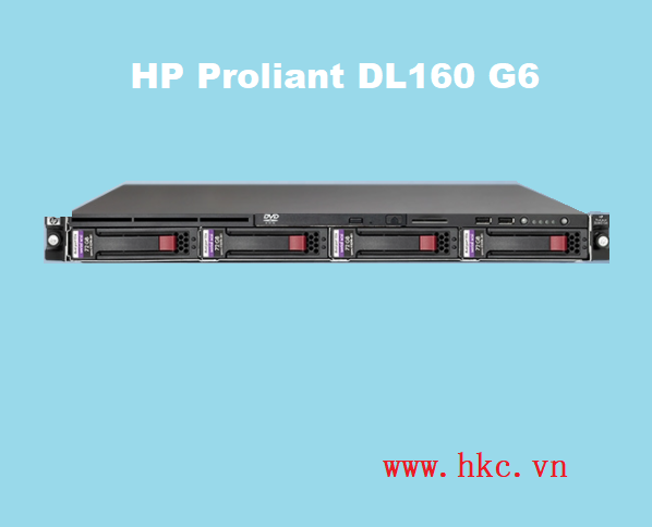 HP Proliant DL160 G6 (2x Intel Xeon E5620 2.4GHz/ 32GB/ SAS 2x146GB/1TB/ 460watt)