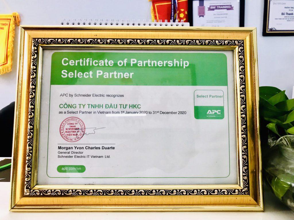 HKC là đối tác của APC