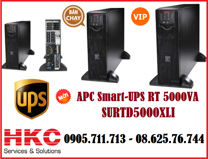 APC Smart-UPS RT 5000VA - SURTD500XLI