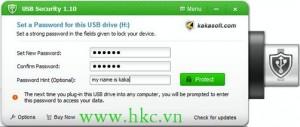 CAI MAT KHAU CHO USB