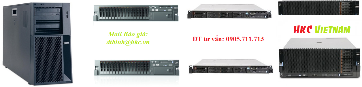 ibm server gia re