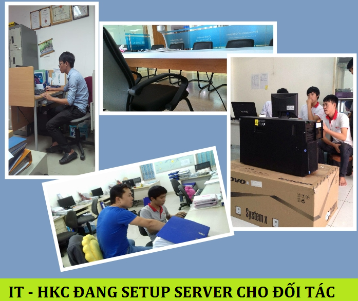SETUP SERVER CHO KHACH HANG