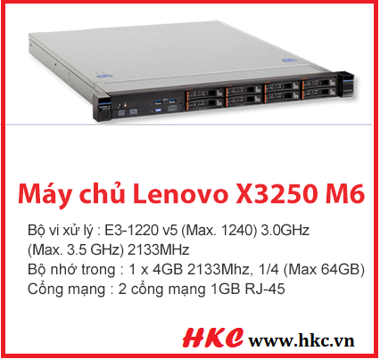 May chu Lenovo X3250 M6