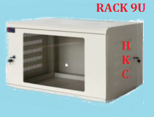 Tủ rack 9U-D500 WALL