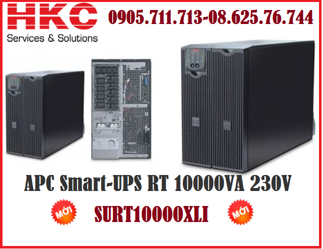 SURT10000XLI - APC Smart-UPS RT 10000VA 230V