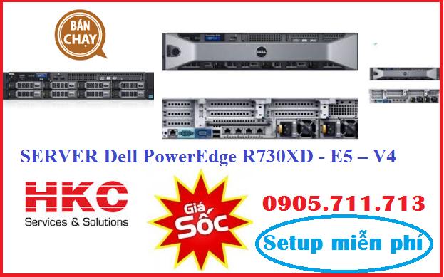 Server Dell PowerEdge R730XD - E5 – V4