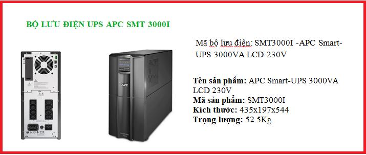 UPS APC SMT 3000I