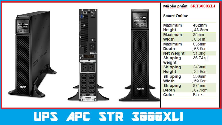 UPS SRT3000XLI